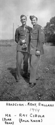 S/Sgt. Albert Wiest and T/4 Raymond Cibula