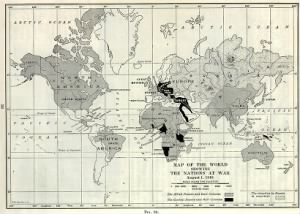 Map of the World Showing Nations at WAR WWI.jpg