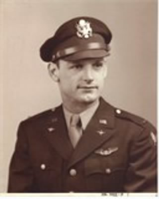 2nd Lieutenant Charles Fred Zavorka US Army Air Corp., B23 Bomber Pilot, POW WWII