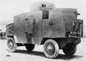 Jeffery Quad Armoured Car