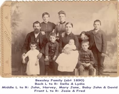 John Marion BEESLEY (1847 - 1901) and Family - Fold3.com
