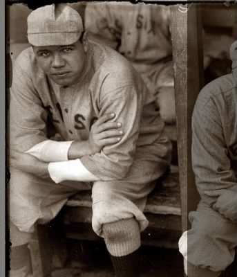 Babe Ruth as a member of the Red Sox
