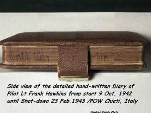 Frank Hawkins personal War-Diary, 1942, North Africa