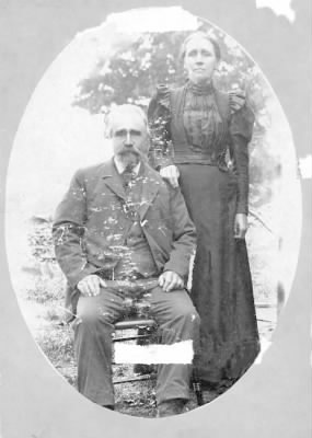 David Van Kleeck and his second wife Adaline