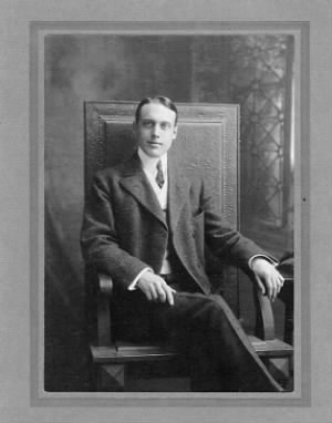 F. B. Van Kleeck, Jr.  portrait seated