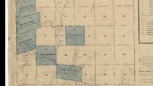Nathan Blackwell's 670 acres of land in 1813