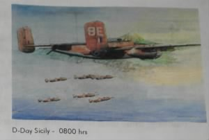 "RM Painting ""D-Day at Sicily"""