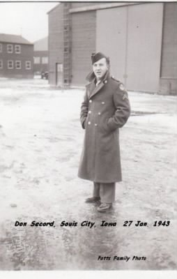 Don Secord in 1943