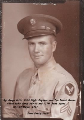 George Potts, KIA Sept. 1943