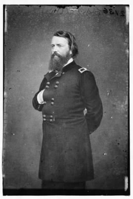 2136 - Portrait of Brig. Gen. John Pope, officer of the Federal Army (Maj. Gen. after Mar. 21, 1862) › Page 1 - Fold3.com