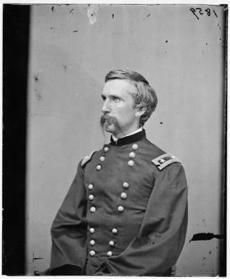 2512 - Portrait of Maj. Gen. (as of Mar. 29, 1865) Joshua L. Chamberlain, officer of the Federal Army › Page 1 - Fold3.com