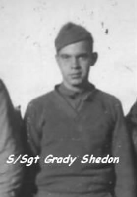 S/Sgt Grady Sheldon, KIA over Austria on 4 April, 1945