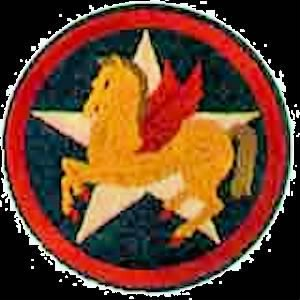 706th Bomb Squad Emblem (of the 445th BG (H) ) B-24's out of England, 1944