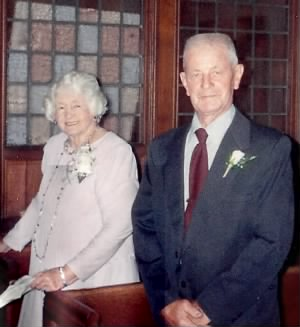 Victor Greive with wife Margaret