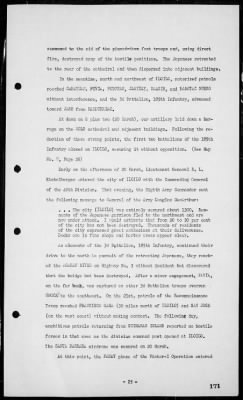 Rep of operations in the invasions & occupation of the Philippines, 1/29/45-8/20/45 › Page 171 - Fold3.com