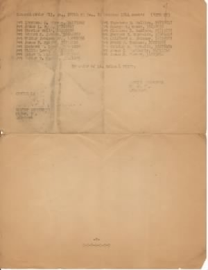 17Oct1944 979th FA Bn Good Conduct Ribbon Pg 2