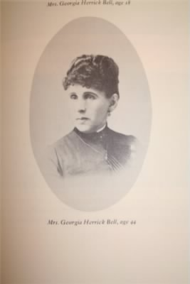 Georgia Herrick Bell Age 44 from Page 177 of Fortune Favors the Brave