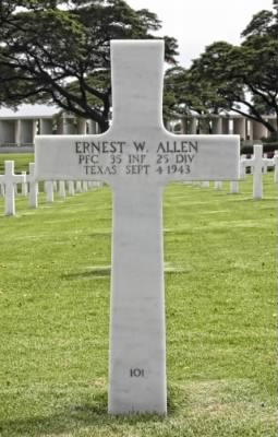Private First Class Ernest W. Allen