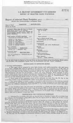 American Zone: Report of Selected Bank Statistics, March 1947 › Page 19 - Fold3.com