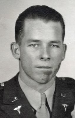 George Davis Featherston in uniform