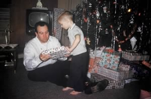 Tom Disher and me Xmas 1961