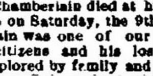 North Chamberlain 1887 Death Notice.JPG
