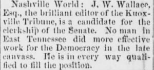 James Wiley Wallace 1882 Senate Clerk Candidacy.JPG