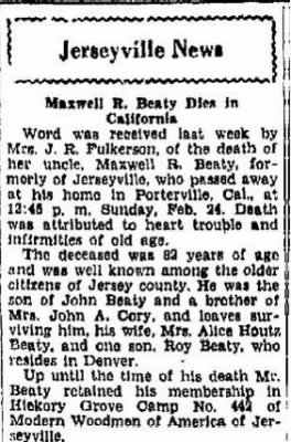 Maxwell R Beaty 1929 CA Death Notice.JPG