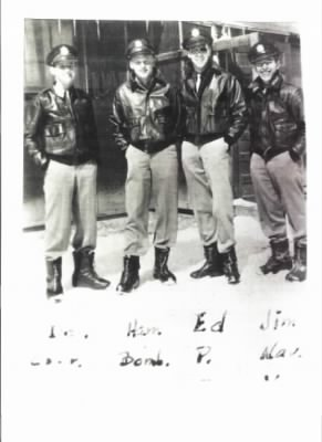 WW II  446th Bomb Group 705th Squadron Edwin Mims' Cres