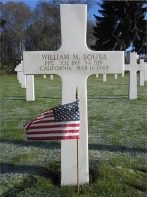 Grave Marker - William Sousa
