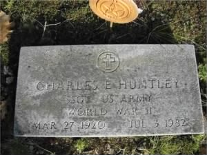 Charles E Huntley, SGT US Army WW II