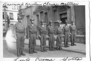 70th Infantry Division Records