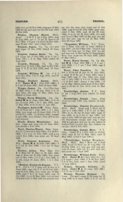 Part II - Complete Alphabetical List of Commissioned Officers of the Army › Page 823 - Fold3.com