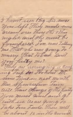 Letter from Dolph Barker to Lois Link dated 9 Jun 1909 - Pg5