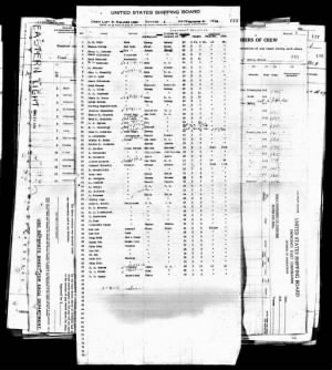 New York Passenger List for M. Marpil