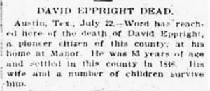 David Eppright 1900 Death Notice.JPG