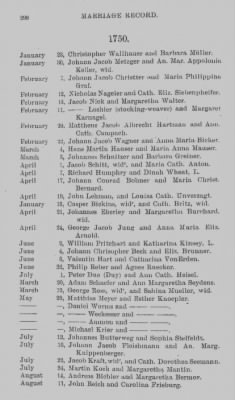 Marriage Record of St. Michael's and Zion Church, Philadelphia. 1745-1800. › Page 298 - Fold3.com