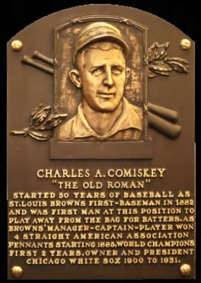 "Charles Albert ""The Old Roman"" Comiskey"