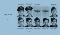 Mark Golden crew from Ardmore AFB yearbook