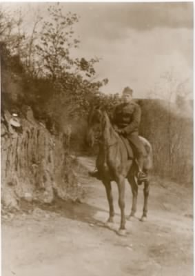 William Clinton Charlton in France during WWI