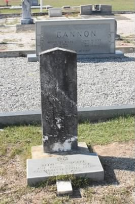 James Oliver Wolfe Headstone