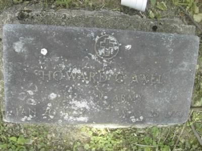 Headstone of Howard C Axel - Fold3.com