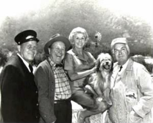 Rufe Davis, Edgar Buchanan, Bea Benaderet, Higgins and Smiley