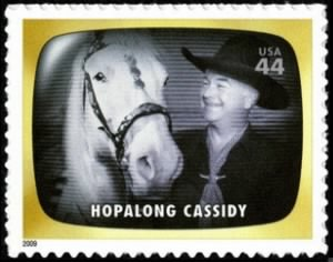 Hopalong Cassidy Stamp