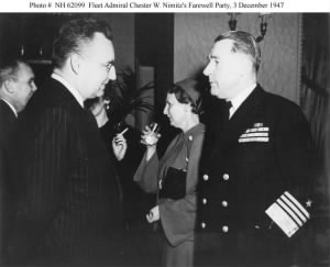 Fleet Admiral Chester W. Nimitz's Farewell Party
