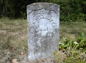 The Grave of William Fitzwater