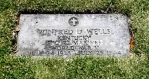 The Grave of Winfred Dale Wells