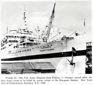 U.S. Army Hospital Ship Francis Y. Slanger