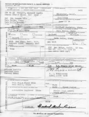 Dick Perkins military separation paper.jpg - Fold3.com