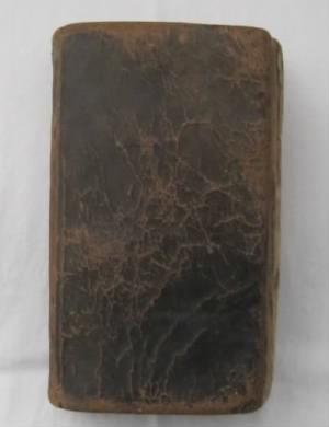 Hymnal owned by Ursula Burgess Baird